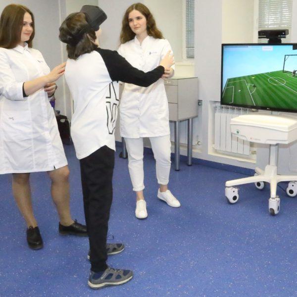 Тренажеры для реабилитации VR